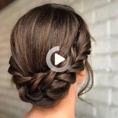 Are you on the hunt for that perfect braided wedding hairstyle? One that feels effortless, romantic and ethereally chic? We love all of the innovative and creative takes on the humble braid that have popped up in our various social feeds. These variations are romantic, chic and unique and feature little tweaks that make it […] #weddinghairstyles Wedding Hairstyles For Medium Hair, Formal Hairstyles, Medium Hair Styles, Natural Hair Styles, Mug Rug Patterns, Elegant Updo, Braided Updo, Digital Pattern, Updos