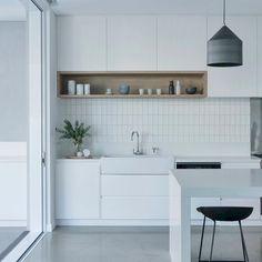 The kitchen that is top-notch white kitchen , modern kitchen , kitchen design ideas! Interior Design Kitchen, Home Design, Kitchen Decor, Kitchen Ideas, Design Ideas, Kitchen Inspiration, Scandinavian Kitchen Interiors, Kitchen Designs, Scandinavian Style