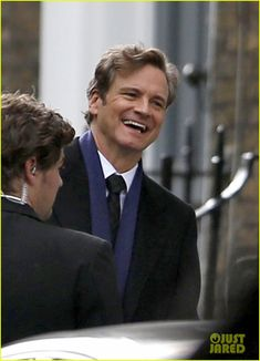 Colin Firth Films 'Bridget Jones's Baby'