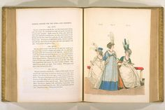 English Fashion, Fashion Books, Fashion Plates, Hand Coloring, Concerts, Regency, 18th Century, Opera, Evening Dresses