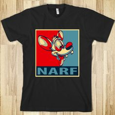 Pinky : Narf T-shirt $29.99    want!