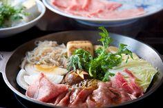 Japanese food - sukiyaki -