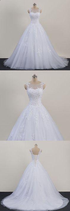 Wedding Dresses: New Lace White/Ivory Wedding Dress Bridal Gown Custom Size 4 6 8 10 12 14 16 18 -> BUY IT NOW ONLY: $145.0 on eBay!