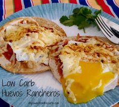 Low Carb Huevos Rancheros - amazing breakfast or lunch recipe