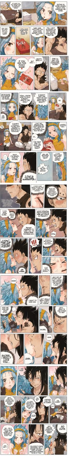 Pocky Day - First Kiss part1