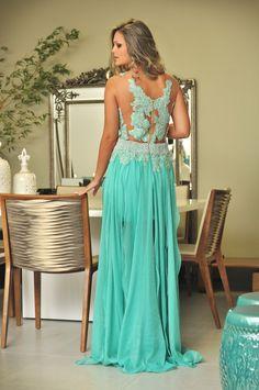 Um vestido para loiras ou morenas quem sabe??