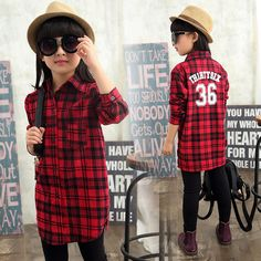 Find More Blouses & Shirts Information about Autumn Winter Fashion Shirt Striped Plaid Blouse Girls Clothes Slim Casual Overshirt Children Clothing 4 15 Years Kids Clothes,High Quality clothes sun,China clothes big Suppliers, Cheap clothes camera from TAILORED on Aliexpress.com
