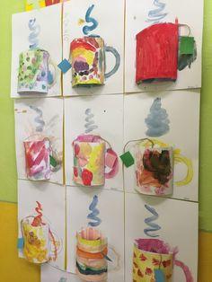 fall art projects for kids Tee - Winter im Kindergarten, Winter Art Projects, Winter Crafts For Kids, Projects For Kids, Art For Kids, Origami, Theme Noel, Kindergarten Art, Preschool, Classroom Crafts