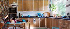 Källdalen av Kungsäter Kök Wood Kitchen Cabinets, Kitchenware, Cribs, Interior, House, Danish, Inspiration, Kitchens, Bath
