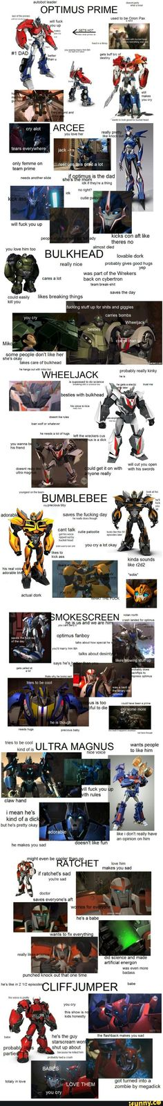 Team Prime according to this guy - I love this so much X3