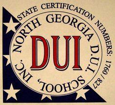 North Georgia DUI School, Inc. Logo designed by Cindy Wood Brochu.