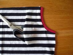 Dámské úpletové šaty s pružným pasem a kapsami | Apron, Tutorials, Fashion, Bags Sewing, Sewing Patterns, Moda, Fashion Styles, Fashion Illustrations, Aprons