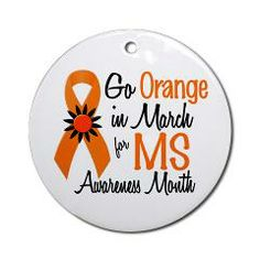 ms awareness pictures | ... everyone to go orange in march for multiple sclerosis awareness