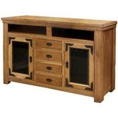 """$886. 40""""h x 62w. Found it at Wayfair - Lodge 100 62"""" TV Stand"""