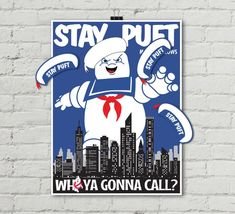 "Ghost-buster Game ""Pin the Hat on Stay Puft Marshmallow Man"" Game, Ghostbuster Party Game Party Games, Party Favors, Game Poster, Stay Puft Marshmallows, Man Games, Ghost Busters, Printer Paper, Make Color, Game Pieces"
