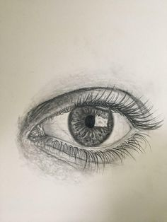 An eye I drew thoughts/helpful criticism appreciated. Eye Sketch, Drawing Sketches, Drawing Eyes, Drawings, Sketching, Face Art, Art Faces, Biro Art, Cool Art