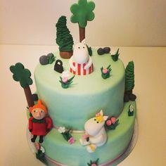 Moomin cake, muminkaka, muumikakku