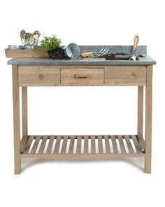 Our Potting Up Table will make for a perfect gardening companion.