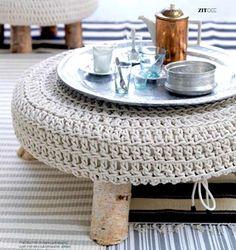Mais de 25 ideias de crochê na decoração: inspirações em peças de crochê para estilos variados de decoração, desde a mais colorida até a nórdica, confira!