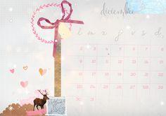 imprimible: calendario diciembre | milowcost♥