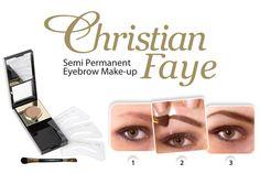 Hochwertiges Augenbrauenpuder von Christian - inklusive Schablone : http://www.wimpernwuensche.de/christian-augenbrauenpuder-mit-schablone-wasserfest-bronze.html #Augenbrauen #Augenbrauenpuder #Christian #Schablone
