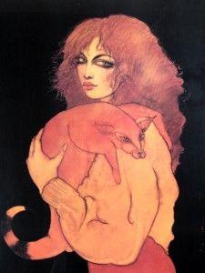 "Ramon Santiago ""Foxy Lady"" Fine Art Print, Rochester NY"