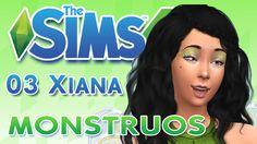 Los Sims 4 ¿Quedamos? 03 XIANA LAGO  ☻MONSTRUOS☻♥tesasims♥
