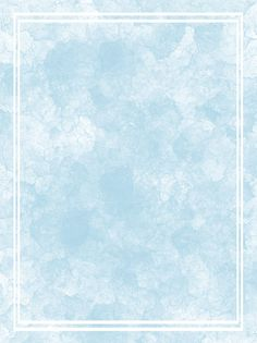 Watercolor Blue Gradient Border Background