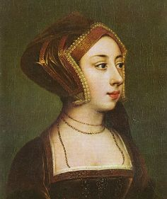 Portrait of Anne Boleyn from Hever Castle