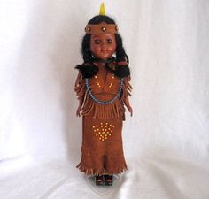 Little Native American doll, I'm sure I've still got this one in the loft