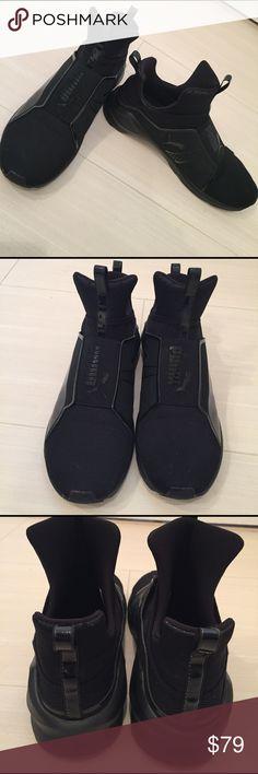 Puma Fierce By Kylie Jenner Puma sneakers by Kylie jenner black size 10 Puma Shoes Sneakers