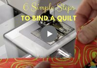 Get the most easy, breezy simple-to-follow steps to binding a quilt explained in the clearest of ways! There are so many tutorials out there—and they do offer