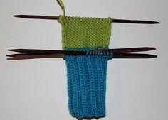 Hvordan strikke sokker til barn – Boerboelheidi Knitting Socks, Diy And Crafts, Accessories, Threading, Knit Socks, Jewelry