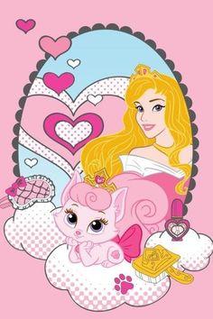 Różowy ręczniki dziecinne z bawełny z księżniczką w lustrze