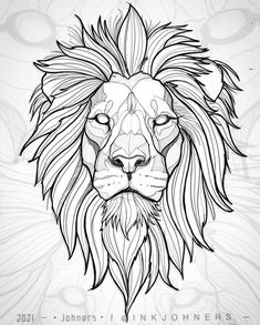 """Memento Publishing (@mementopublishing) posted on Instagram: """"Beautiful #lion #illustration by @inkjohners who has a fantastic portfolio of #tattoos and #drawings to enjoy! 🦁🌟  …"""" • May 6, 2021 at 1:48pm UTC Family Tattoo Designs, Lion Tattoo Design, Armband Tattoo Design, Sketch Tattoo Design, Tattoo Sketches, Tattoo Drawings, Lion Head Tattoos, Leo Tattoos, Animal Tattoos"""
