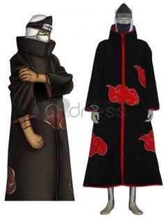 Naruto Cosplay / Naruto Akatsuki Kakuzu Cosplay Costume / http://www.thdress.com/Naruto-Akatsuki-Kakuzu-Cosplay-Costume-p1915.html