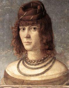 Vittore Carpaccio - Ritratto di Cortigiana
