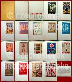 The State Graphic School of 1934 was compiled and edited by Ladislav Sutnar, VG condition. Josef Čapek's book covers - a selection of envelopes. Books 2018, Book Covers, New Books, Childrens Books, Auction, Holiday Decor, Illustration, Artist, Prints