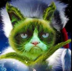 I love the Grinch almost as much as love Grumpy Cat