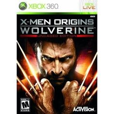 Product DescriptionThe X-Men saga continues with the X-Men Origins: Wolverine video game for the Xbox 360, based on the feature film of the same name. Unleash the fury of Wolverine and see how it all began. With cinema-style graphics and sound, and unstoppable action and excitement, X-Men Origins: Wolverine will have you on the edge of seat as you slash, slice, and stab your way through level after level of intense, epic gameplay.  .caption { font-family: Verdana, Helvetica n