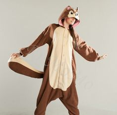 This squirrel onesie! #TheNutJob
