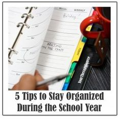 Pediatric Therapy Corner: 5 Tips to Stay Organized During the School Year-pinned by @PediaStaff – Please Visit  ht.ly/63sNt for all our pediatric therapy pins