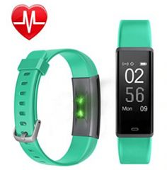 Fitness Tracker HR, Letscom Activity Tracker Watch with Heart Rate Monitor, Waterproof Smart Bracelet as Step Counter Pedometer Calorie … Best Fitness Watch, Best Fitness Tracker, Calorie Watch, Activity Tracker Watch, Fitness Watches For Women, Smart Bracelet, Workout Wear, Stay Fit, Fun Workouts
