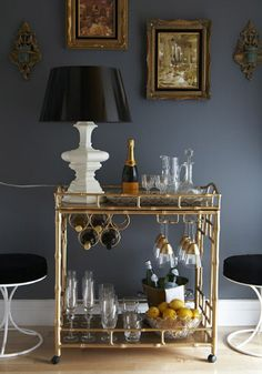 Designer Home Bar Sets, Modern Bar Furniture for Small Spaces is part of Home Accessories Styling Bar Carts - Designer furniture for your home bar is functional, space saving and stylish Decor, Bar Decor, Bar Furniture, Interior, Home Decor, Bars For Home, Home Bar Sets, Modern Bar, Bamboo Bar