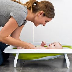 Naked - 2-Position Collapsible Baby Bathtub - $69.95