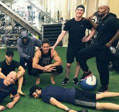 Seb at the gym 7/24/17