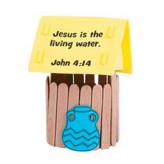 Jesus es el agua de vida JUAN 4:4
