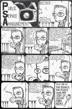 Johnny the Homicidal Maniac PSA by none other than Jhonen Vasquez This may offend a lot of people, but I think it's funny.