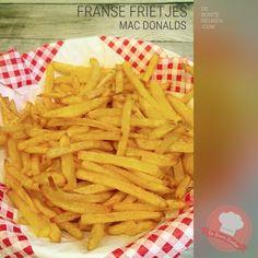 DeBonteKeuken: Franse frietjes! (aardappels, suiker, snack, avondeten, maaltijd, bijgerecht, frituur, homemade)