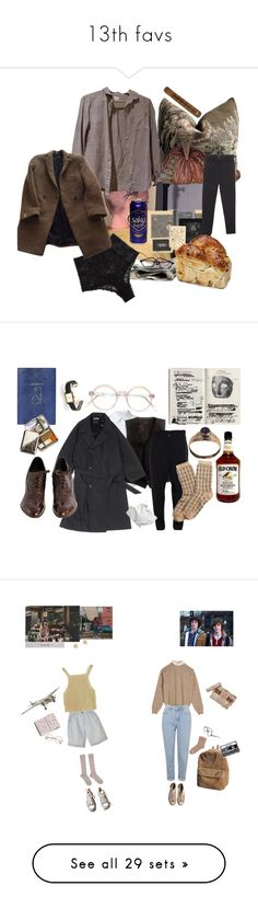 """13th favs"" by nieboskakara ❤ liked on Polyvore featuring Urban Outfitters, Cosabella, The Kooples, CO, Vivienne Westwood Anglomania, Band of Outsiders, J.Crew, Lemaire, Topshop and Cartier"